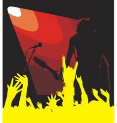 solo guitar vector image