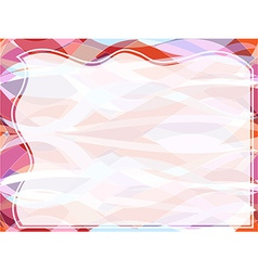 Wavy transparent retro slide background vector