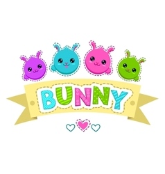 Cute colorful kids vector image vector image