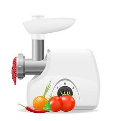 Electric kitchen grinder 02 vector