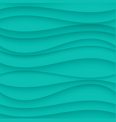 Blue seamless Wavy background texture vector image