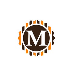 Best quality letter m vector