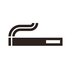 Cigarette sign vector
