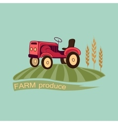 Farm logo and emblem vector