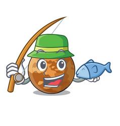 Fishing plenet mercury shape in the character vector