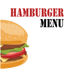 Hamburger menu hamburger background image vector