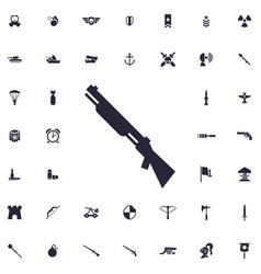 Shotgun icon vector