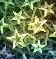 Starry Christmas Background vector image