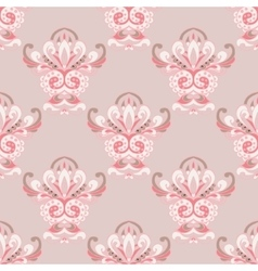damask luxury royal classic pattern vector image vector image