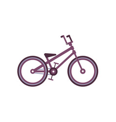bmx bike modern bicycle vector image vector image