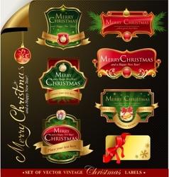 Christmas frames vector
