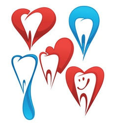 Dentist collection vector