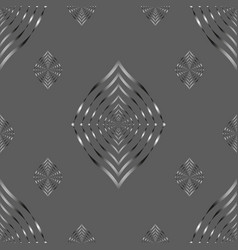 Seamless pattern lines geometric background vector
