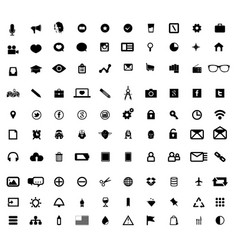 universal-icon-set-for-web-and-mobile vector image