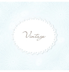 Vintage hand drawn background for your design vector image