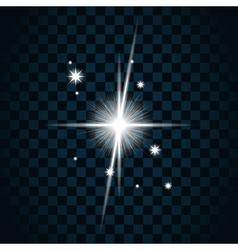 Shine star sparkle icon 19 vector image vector image