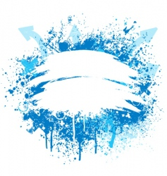 blue and white grunge design vector image vector image