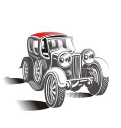 Cabriolet m vector image vector image