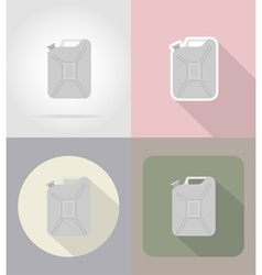 car equipment flat icons 10 vector image vector image
