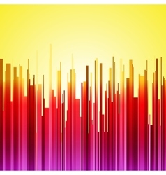 Abstract vertical red purple and orange gradient vector