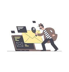 email search male vector image