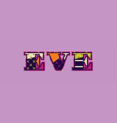 Eve concept word art vector