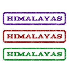 Himalayas watermark stamp vector