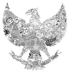 Garuda Indonesia Vector Images Over 360
