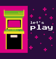 Lets play arcade vector