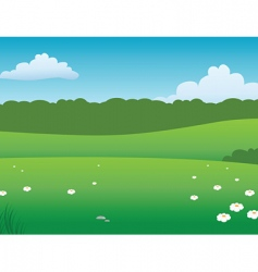 Prairie background vector