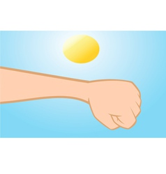 Skin cancer vector
