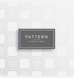 stylish gray line pattern design vector image
