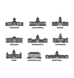 united states america vector image