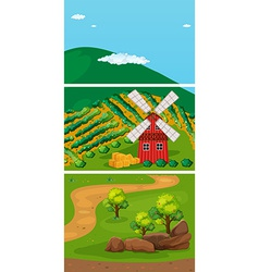 Farming vector image