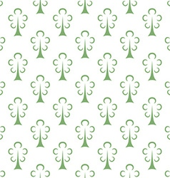 Green trees seamless pattern vector image