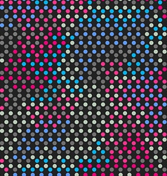 spectrum points seamless pattern vector image