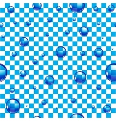 Background water drops vector image