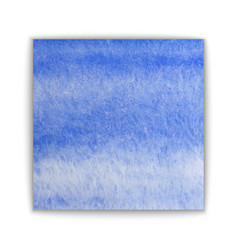 abstract hand drawn watercolor background blue vector image