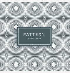 Abstract line pattern background vector
