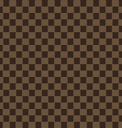 brown beige seamless fabric texture pattern vector image
