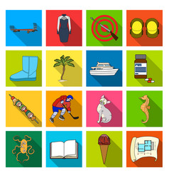 business leisure tourism and other web icon in vector image