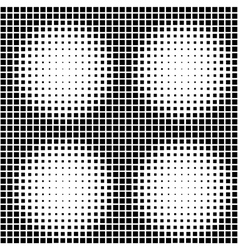 Halftone Seamless Pattern Background vector image