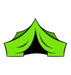 Hunting tent icon icon cartoon vector