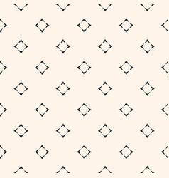 minimalist seamless pattern with small star vector image
