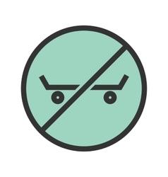 No Skating vector
