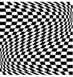 Oscillation ripple squeeze warp curve camber vector