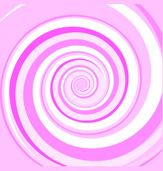 Pink colored twirl spiral abstract background vector