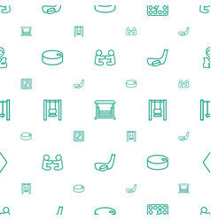 Playing icons pattern seamless white background vector