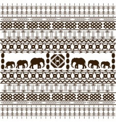 traditional African vector image