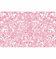 filigree background vector image